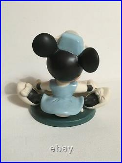 Disney Classic Collection WDCC First Aiders Minnie Nurse Pluto Figaro COA