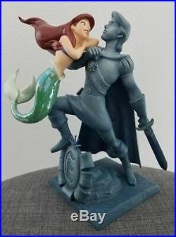 Disney Classics Collection Little Mermaid Ariel with Eric Statue WDCC Figurine