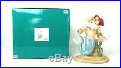 Disney WDCC 1217945 Little Mermaid King Triton and Ariel Morning Daddy! WithCOA