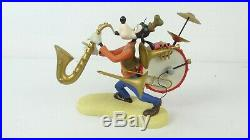 Disney WDCC 4010336 Mickey Mouse Club Goofy One-Man Band withCOA