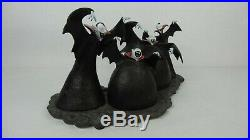 Disney WDCC 4010346 Nightmare Before Christmas Vampires Fiendish Fans withCOA