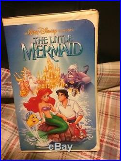 Little Mermaid VHS, 1989 Rare Banned Cover Little Mermaid! Good Condition