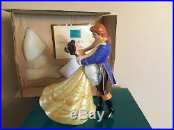 WDCC Beauty & The Beast Belle & Prince The Spell is Lifted + Box & COA