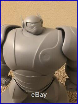 WDCC Big Hero Baymax Mech Cast And Crew Maquette WALT DISNEY 16/25 Only 25 Made