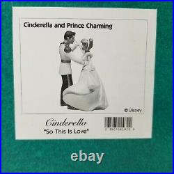 WDCC Cinderella Prince Charming & Cinderella So This is Love withBox and COA
