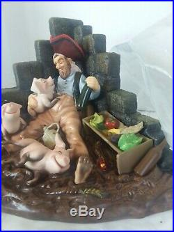 WDCC DISNEY PIRATE WITH PIGS from Pirates of the Caribbean