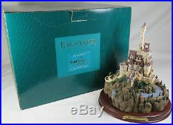 WDCC Disney Classics The Beasts Castle Beauty & the Beast With Box & COA