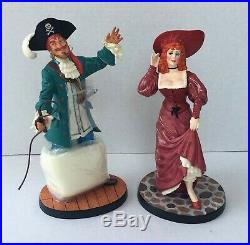 WDCC Disney Pirates of Caribbean Auctioneer and Redhead We Wants the Redhead NIB