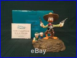 WDCC Donald Duck and Nephews The Sheriff of Bullet Valley + Box & COA