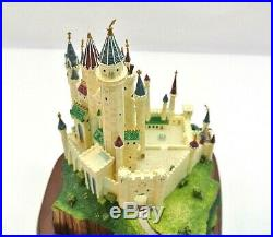 WDCC Echanted Places Sleeping Beauty's Castle Needs repair