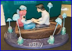 WDCC Little Mermaid Ariel & Eric Kiss the Girl #1214733 Mint in Box withCOA