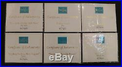 WDCC Mary Poppins Bert Penguins Table Title Whole Set Disney Figurines With COA