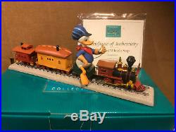 WDCC Out of Scale Donald Duck Backyard Whistle Stop + Box/COA