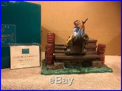 WDCC Pirate on Cannon (Mr. Coote) Peligro, Explosivos! Signed