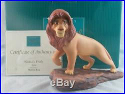 WDCC Simba's Pride Simba from Disney's The Lion King in Box with COA