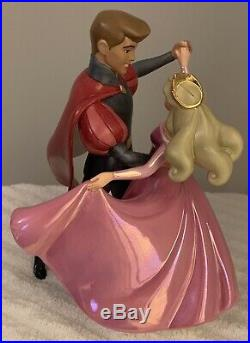 WDCC Sleeping Beauty A Dance In the Clouds Pricess Aurora & Prince Phillip MIB