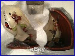 WDCC Song of the South BRER FOX & BRER RABBIT RARE SET MIB withCOA NEW