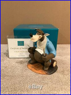 WDCC Song of the South Brer Bear A Hankering for Hare + Box & COA