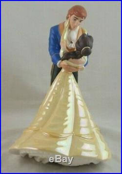 WDCC The Spell is Lifted Belle and The Prince from Beauty and the Beast in Box