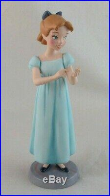 WDCC True Believer Wendy from Disney's Peter Pan in Box with COA