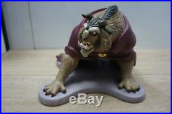 WDCC Walt Disney Classic Collection Beauty And The Beast Fury Unleashed Rare