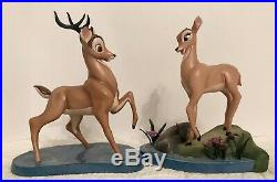 WDCC set of 2 Bambi Weak in the Knees & Faline'Light As A Feather NIB withCOA