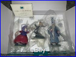 Wdcc Sword In Stone Wizards Duel Madame Mim And Merlin In Box Withcoa